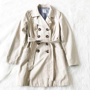 💕💖Chino cotton Khaki Trench Coat